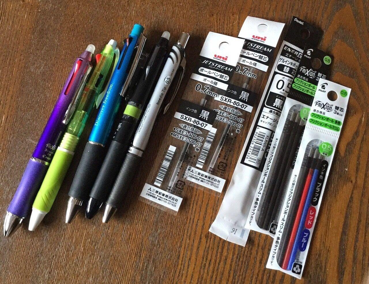 使用済乾電池とボールペンの話